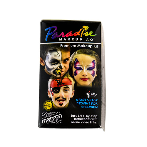 Mehron Children's Paradise Premium Makeup AQ - Face Painting Kit