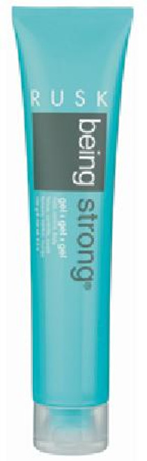 Rusk Being Strong Gel - hold, control, body