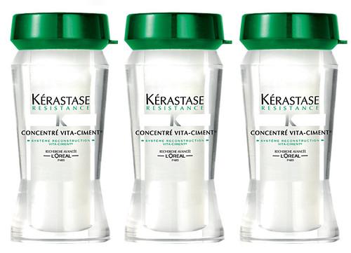 Kerastase Resistance Concentre Vita-Ciment - Reconstructive Treatment for weakened hair
