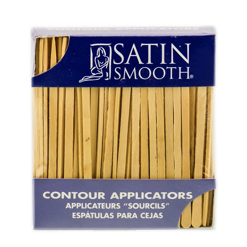 Satin Smooth Contour Applicators For Eyebrows