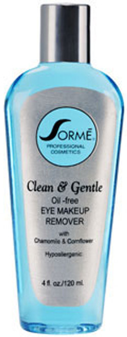 Sorme Cosmetics Clean & Gentle Oil-Free Eye Makeup Remover