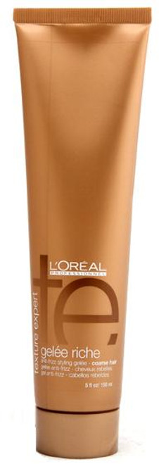 L'oreal Texture Expert - Gelee Riche anti-frizz styling gelee