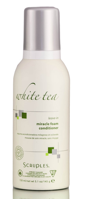 Scruples White Tea Leave-In Miracle Foam Conditioner