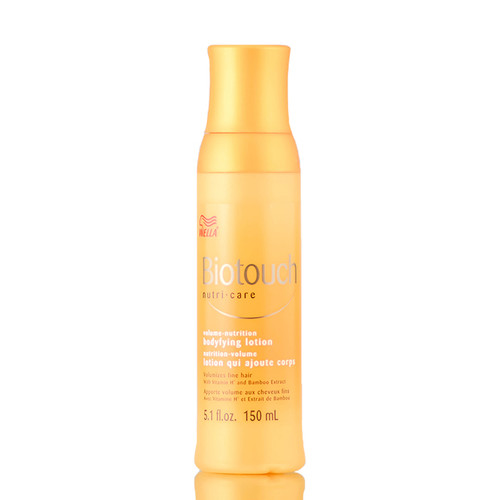 Wella Biotouch Volume Nutrition Bodifying Lotion for fine hair
