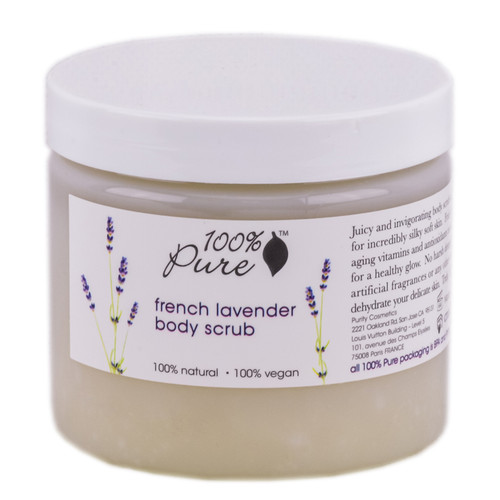 100% Pure French Lavender Body Scrub
