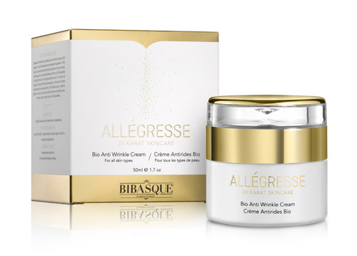 Allegresse 24K Gold Bio Anti Wrinkle Cream