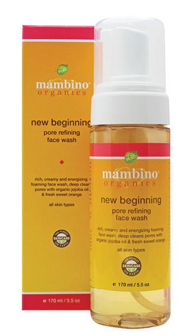 Mambino Organics New Beginning Pore Refining Face Wash