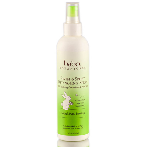 Babo Botanicals Cucumber Aloe Vera UV Sport Conditioning Spray