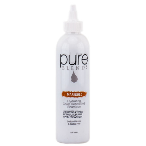 Pure Blends Hydrating Color Depositing Shampoo - Marigold