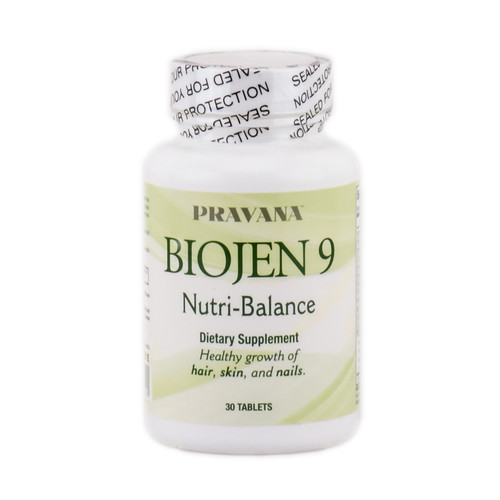 Pravana Biojen 9 Nutri-Balanace Dietary Supplement