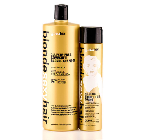 Blonde Sexy Hair Sulfate-Free Bombshell Blonde Shampoo
