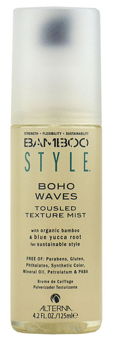 Alterna Bamboo Style Boho Waves Tousled Texture Mist