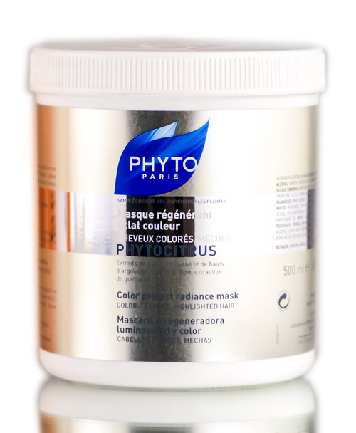 Phyto Phytocitrus Soin Vital Radiance Mask for Color-Treated or Permed Hair
