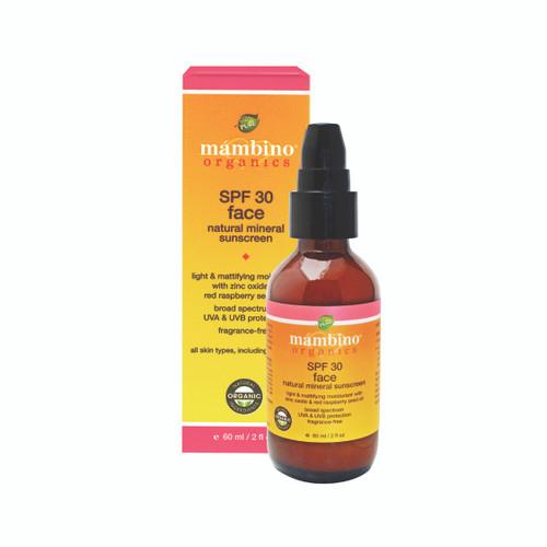 Mambino Organics SPF 30 Face Natural Mineral Sunscreen