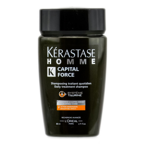 Kerastase Homme Capital Force Daily Treatment Shampoo - Densifying Effect