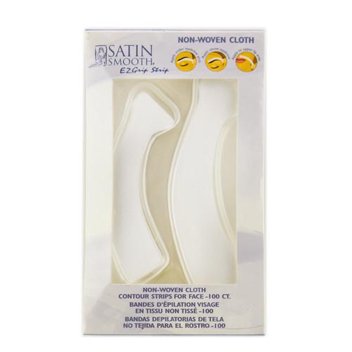 Satin Smooth Non-Woven Cloth Contour Strips For Face