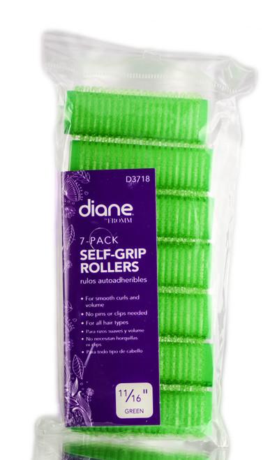 Diane Self Grip Green Rollers