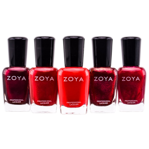 Zoya Natural Nail Polish - Red
