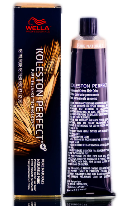 Wella KOLESTON PERFECT ME+ Permanent Creme Haircolor Dye, 2 oz