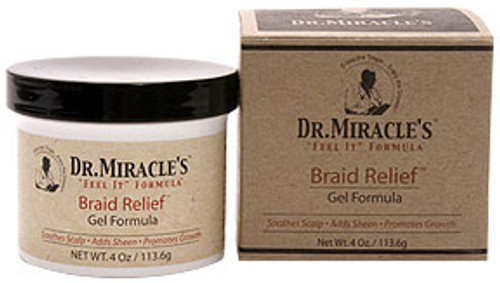 Dr. Miracle's Braid Relief Gel Formula