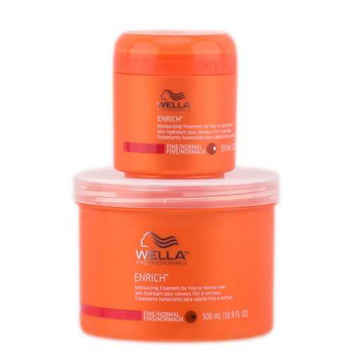 Wella Professionals Enrich Moisturizing Treatment - For Fine to Normal Hair