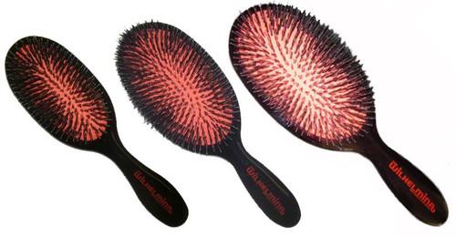 Fi Wilhelmina Boar and Nylon Hair Brushes