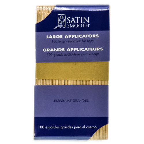 Satin Smooth Large Applicators For Body