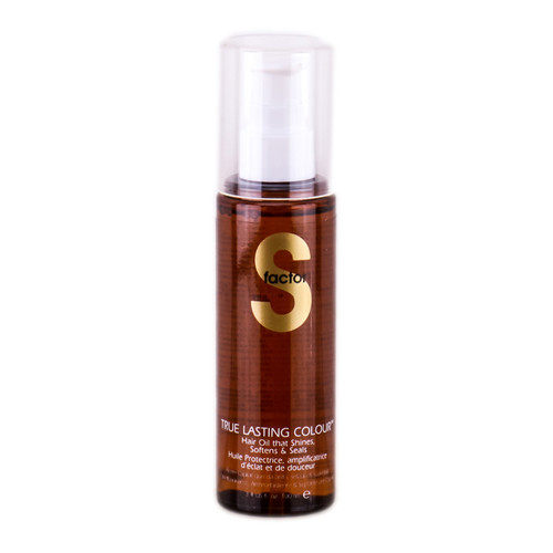 Tigi S Factor True Lasting Colour Hair Oil - That Shine Oftens & Seals
