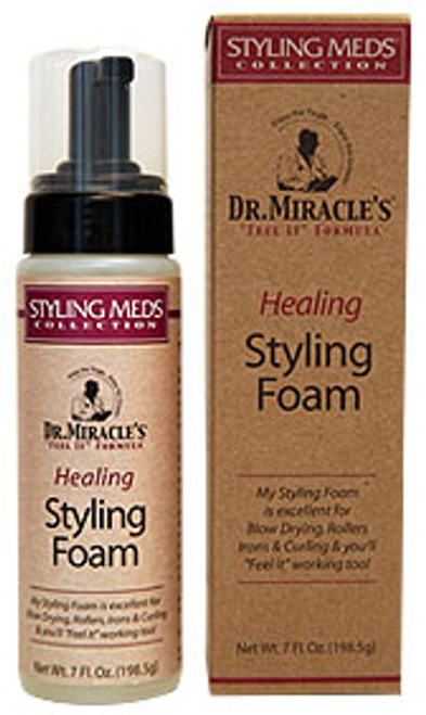 Dr. Miracle's Styling Meds Healing Styling Foam