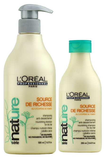 L'oreal Serie Nature Source De Richesse Nourishing Shampoo for Dry Hair