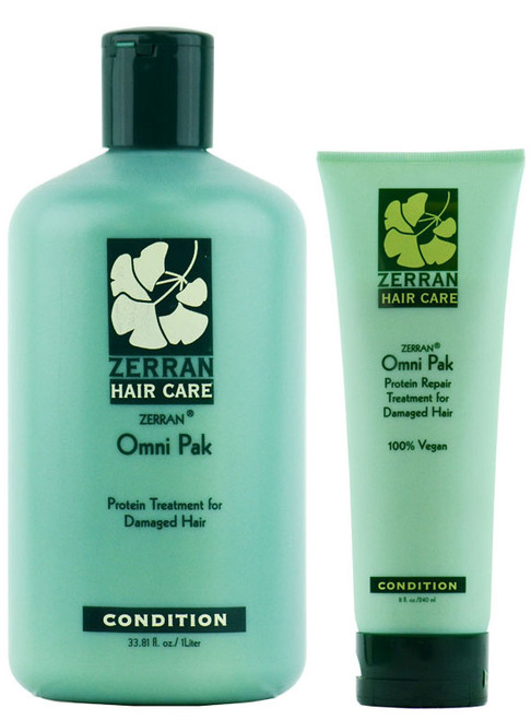 Zerran Omni Pak Protein Treatment for Damaged Hair