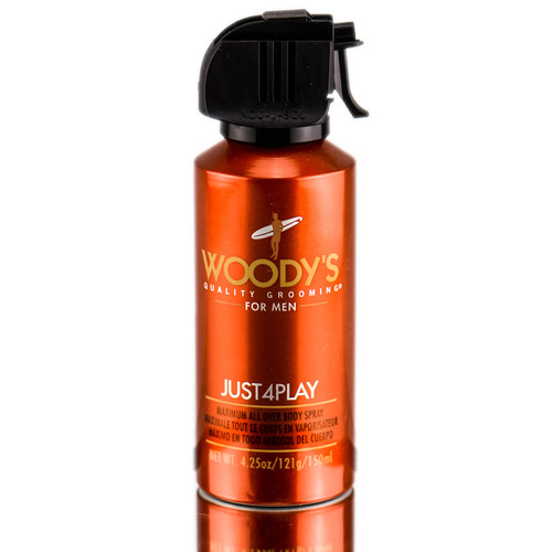 Woody's For Men Just 4 Play Maximum - All Over Body Spray