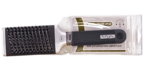 VIA Crystal Ion Mega Boar Thermal Styler Brush