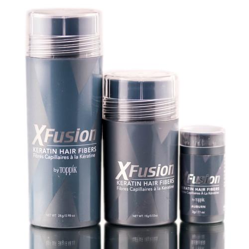 XFusion Auburn Keratin Hair Fibers