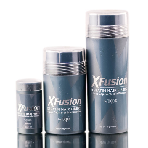 XFusion White Keratin Hair Fibers