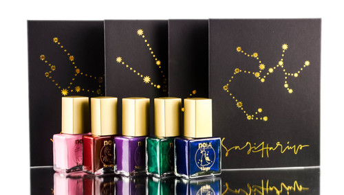 Sleekhair Zodiac Nail Polish & Flash Tattoo Set