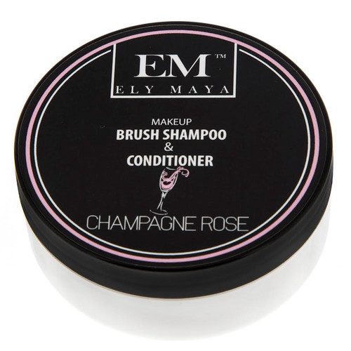 Ely Maya Make-up Brush Shampoo & Conditioner - Champagne Rose