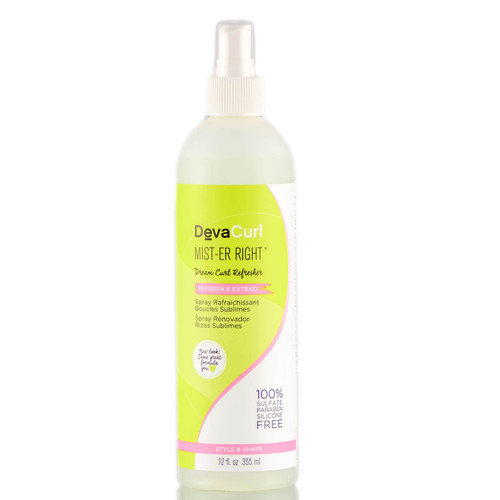 DevaCurl Mist-er Right Dream Curl Refresher Style and Shape