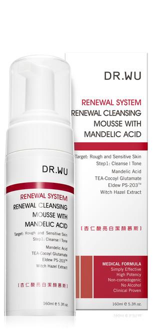 Dr.Wu Renewal System Renewal Cleansing Mousse (with Mandelic Acid)