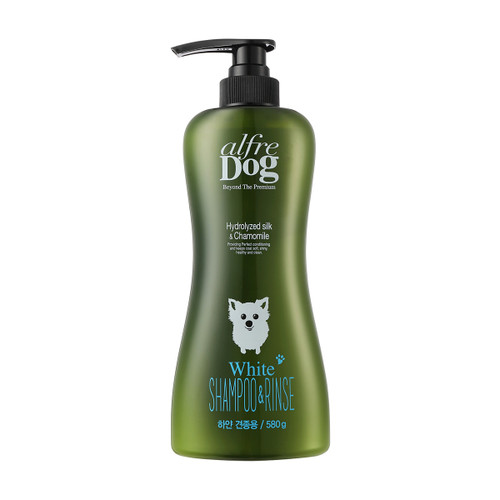 AlfreDog Hydrolized Silk & Chamomile White Shampoo and Rinse