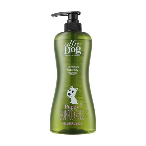 AlfreDog Grapefruit Rosemary Puppy Shampoo & Rinse