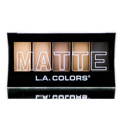 L.A. Colors 5 Color Matte Eyeshadow - CEM480