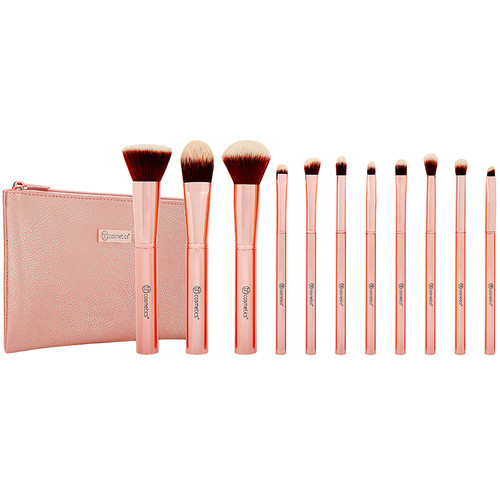 BH Cosmetics Metal Rose Brush Set