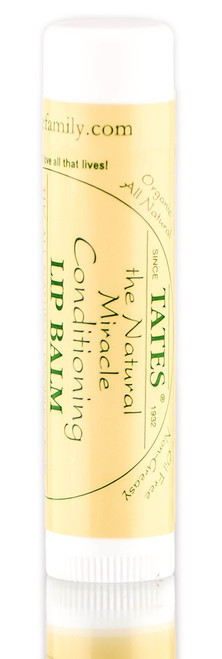 Tate's The Natural Miracle Conditioning Lip Balm