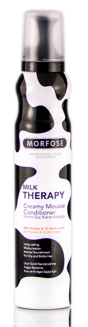 Morfose Pro Milk Therapy Creamy Mousse Conditioner