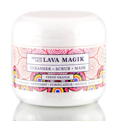 The Better Skin Lava Magik : Cleanser, Scrub, Mask (Fresh Orange)