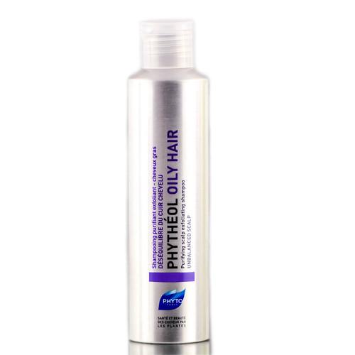 Phyto Phytheol Purifying Scalp Exfoliating Shampoo (Oily Hair)