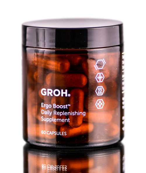 Groh Ergo Boost Daily Replenishing Supplements
