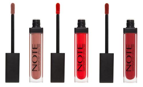 Note Cosmetics MatteMoist Lipgloss
