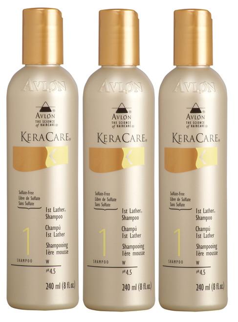 Avlon KeraCare 1st Lather Shampoo (Sulfate-Free)
